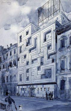 The architecture of Piero Portaluppi (1888 – 1967).