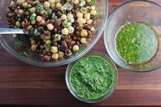 Black Bean and Chickpea Salsa