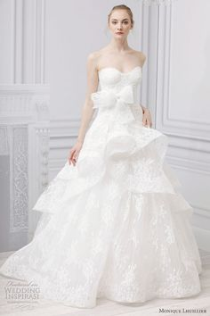 monique lhuillier belle wedding dress spring 2013