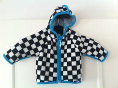 Molo skakternet fleece jacket - Race, $24