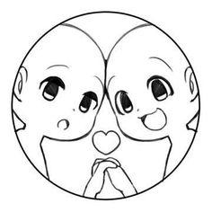 Drawing Base, Manga Drawing, Manga Art, Drawing Sketches, Drawing Tips, Drawing Ideas, Chibi Sketch, Anime Sketch, Arte Do Kawaii