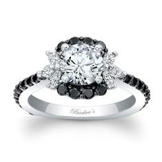 Barklvs black diamond ring