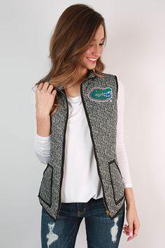 University Of Florida Herringbone Vest
