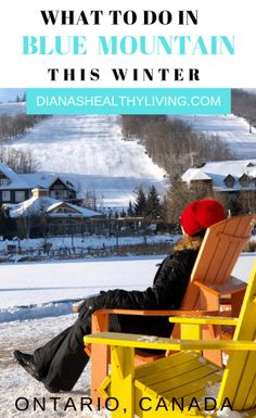 If you are in need of a winter escape then a Blue Mountain Getaway is one of the most perfect short trips from Toronto. I love visiting Blue Mountain in all seasons but it is Canada Travel, Travel Usa, Travel Tips, Travel Ideas, Travel Hacks, Travel Advice, Ottawa, Vancouver, Toronto