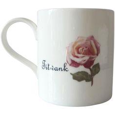 Outlandish Creations Titwank Mug ($70) ❤ liked on Polyvore