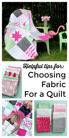 Choosing Fabric for a Patchwork Quilt