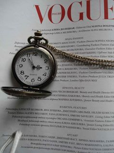 Necklace Pendant Flower bronze Pocket Watch by Azuraccessories, $8.85