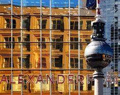 Alexanderplatz/Fernsehturm. Berlin. Fotocollage.