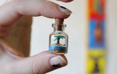 tiny bottled world