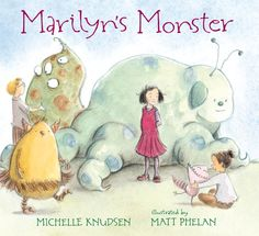 Marilyn's Monster is great to use for a story hour! Here's a story-time kit full of activities to share!