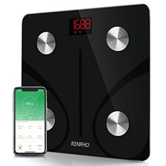 RENPHO App works with Bluetooth supports Android & IOS or above system. RENPHO Bluetooth Body Fat Scale - FDA Approved - Smart BMI Scale Digital Bathroom Wireless Weight Scale, Body Composition Analyzer with Smartphone App, 396 lbs. Digital Weight Scale, Body Weight Scale, Body Scale, Digital Scale, Bluetooth Scale, Best Bathroom Scale, Bathroom Scales, Kitchen Scales, Kitchens