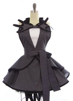 check this out mom! its an apron but it could be made into a full on costume. The Nightmare Before Christmas