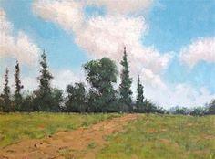 "Daily Paintworks - ""Light Sky"" - Original Fine Art for Sale - © Michko Wrye"