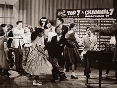 american bandstand 1950s   Some teens sought out African American sources for new steps and ...