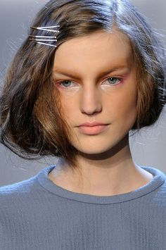 Love this styling from Rodarte's fall runway