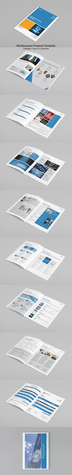 Proposal Template Proposal templates, Proposals and Brochures - professional project proposal