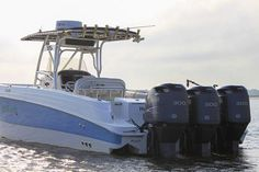 """""""Blue Byu"""" is a beaut. Used 2005 Wellcraft 35 CCF for sale. Used Boats, Boats For Sale, Blue"""