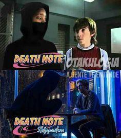 Achei meio pesadão essa aí Death Note, Funny Memes, Jokes, Otaku Meme, Geek Games, Nerd Humor, Pokemon Funny, Ronaldo, Anime
