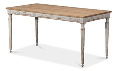Lady's Dining Table , Sarreid Ltd Portal ! Round Wood Dining Table, Round Side Table, Dining Table In Kitchen, Dining Bench, Dining Furniture, Home Furniture, Transitional Dining Tables, Large Family Rooms, Wood Rounds