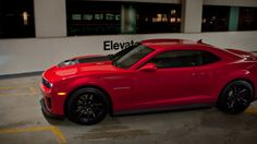 2013 Camaro ZL1 in Victory Red