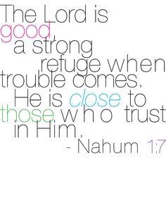 Nahum 1:7