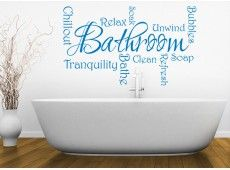 Bathroom wall stickers and vinyl wall art for the family bathroom or on-suite. Our bathroom wall decals are available in plenty of colours and sizes. Bathroom Wall Stickers, Bathroom Signs, Bathroom Ideas, Vinyl Wall Art, Vinyl Decals, Wand Tattoo, Soap Bubbles, Words Quotes, Colour