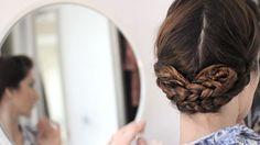 Peinado con trenzas para la Primera Comunión #peinadosdeprimeracomunión #peinadosparaniñas #tutorialpeinados