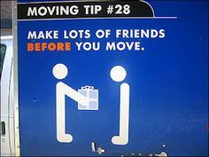 Funny Moving Day Memes- For Sanity's Sake. Just taking a mini brake during this time to reenergize with some laughter. And while at it share a smile. Get Moving, Moving Day, Moving Tips, Moving House, Funny Moving Pictures, Moving Photos, Moving Humor, Fun Moves, Packing To Move