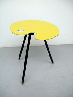 Brussels World Fair Expo 1958 Side Table Palette Very by windesign, $498.00