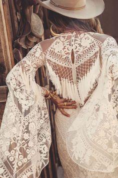 Fringe Wedding Dress, Western Wedding Dresses, Bohemian Wedding Dresses, Dream Wedding Dresses, Wedding Gowns, Bohemian Weddings, Rose Wedding, Indian Weddings, Unique Weddings