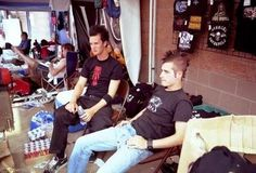 young The Rev & Johnny Christ
