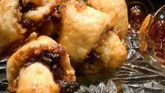 I have many rugelach recipes, but this is truly the best I have ever made. Rugelach Cookies, Rugelach Recipe, Shortbread Cookies, Egg Recipes, Cookie Recipes, Dessert Recipes, Coconut Macaroons, Jewish Recipes, Christmas Sweets