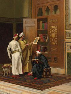 Ludwig Deutsch, The Scholars, 1901 @@@@......http://www.pinterest.com/nikitaidou/art-orientalism/