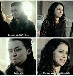 Orphan Black - Sarah and Tony