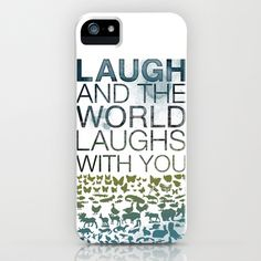 Laugh iPhone Case by Alanna James - $35.00