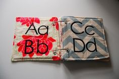 diy abc baby book