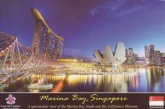 Marina Bay and ArtScience Musuem - Singapura