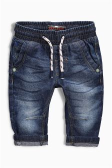 Pull-On Brushed Jeans (3mths-6yrs) (907300X56) | £8 - £9