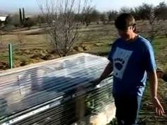 Joel's Raised Garden Greenhouse and other VIDEOS