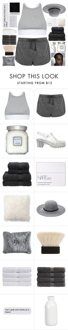 """""""666"""" by dont-go-to-sleep ❤ liked on Polyvore featuring T By Alexander Wang, Topshop, Laura Mercier, JuJu, Christy, NARS Cosmetics, Pottery Barn, Ashley Stewart, Pier 1 Imports and Claudio Riaz"""