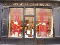 Mélodies Graphiques (old fashioned stationery shop) in Paris