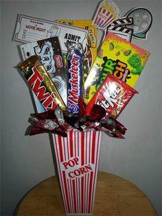 Movie Night Candy Arrangement