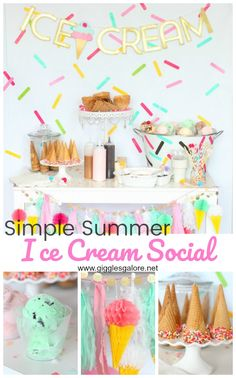 Simple Summer Ice Cr