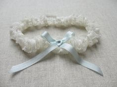 Love Story French lace garter by florriemitton on Etsy