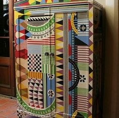 painted furniture cabinet