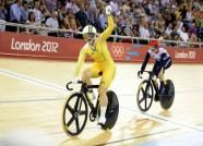 AFP: Meares on track to save Aussie gold blushes