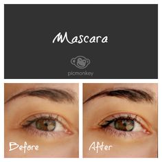 Mascara is the Wonder Woman of our Touch Up effects. Apply it over the eyelashes, use it as an eyeliner or as a quick eyebrow pencil to darken light eyebrows.