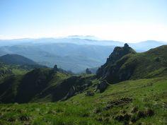 View of the Ciucaş, Prahova County, Romania Travel Guide, Environment, Places, Romania, Scenery, Cabin, Tour Guide, Lugares