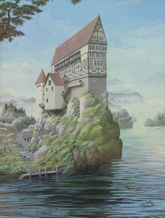 Ian S Bott - Artwork - River House
