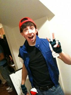 Brian Rosenthal as Ash Ketchum. My life is complete.